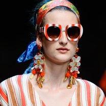 Okulary przeciwsłoneczne wiosna 2013 w paski