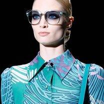Okulary przeciwsłoneczne wiosna 2013 niebieskie szkła