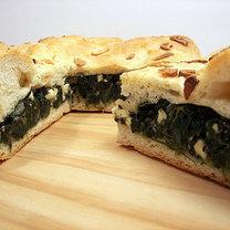 Chleb ze szpinakiem