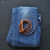 Torebka ze spodni jeansowych 1