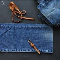 Torebka ze spodni jeansowych 3