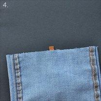 Torebka ze spodni jeansowych 4