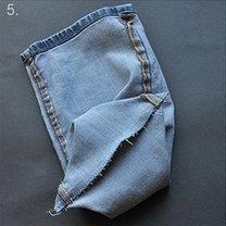 Torebka ze spodni jeansowych 5