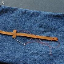 Torebka ze spodni jeansowych 8