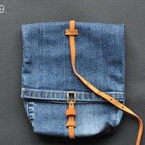 Torebka ze spodni jeansowych 9