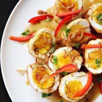 Jajka w sosie tamaryndowym