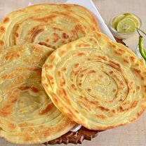 Paratha chlebek