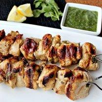 grillowane szaszłyki kebab