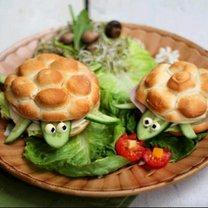 kanapki żółwie