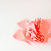 duży kwiat z papieru - krok 8