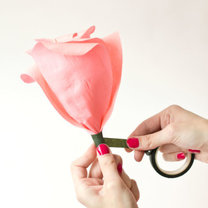 duży kwiat z papieru - krok 16