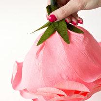 duży kwiat z papieru - krok 19