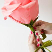 duży kwiat z papieru - krok 28