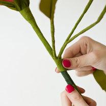 duży kwiat z papieru - krok 29
