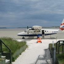 Lotnisko na plaży
