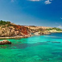Cala Xarraca, Ibiza, Hiszpania