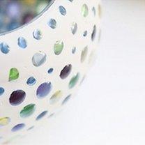 Świecznik do ogrodu DIY 11