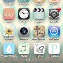 spersonalizowane ikony w iPhone