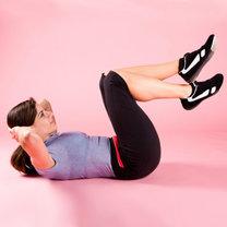 triki na płaski brzuch - krok 5