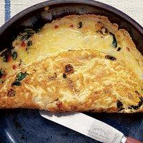 Omlet z serem i papryczką chilli