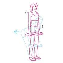ćwiczenia wyszczuplające uda i łydki - krok 2
