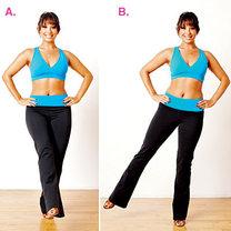 ćwiczenia przez taniec - krok 2