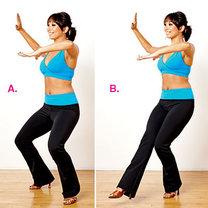 ćwiczenia przez taniec - krok 3