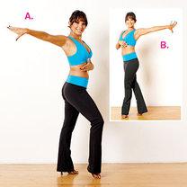 ćwiczenia przez taniec - krok 5