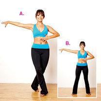 ćwiczenia przez taniec - krok 6