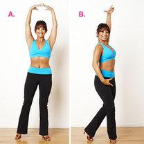 ćwiczenia przez taniec - krok 7