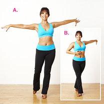 ćwiczenia przez taniec - krok 8