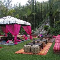 Ogród w styku marokańskim