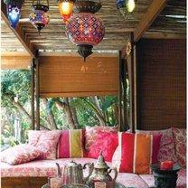 Taras w marokańskim stylu