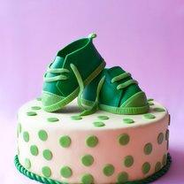 buciki na tort z masy cukrowej