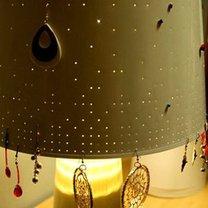 Lampka stojak na kolczyki