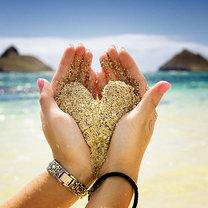 Serce z piasku