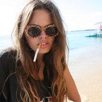 Palenie na plaży