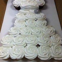Tort suknia ślubna