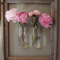 Kwiaty w ramce