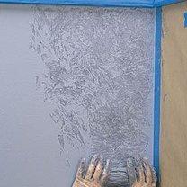 wzorki na ścianie - krok 2