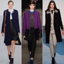 trendy jesień 2013 - płaszcze minimalistyczne