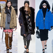 trendy jesień 2013 - płaszcze parki