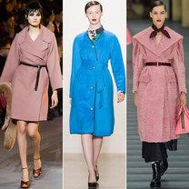 trendy jesień 2013 - płaszcze z paskiem