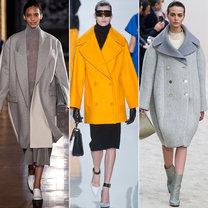 trendy jesień 2013 - płaszcze oversize