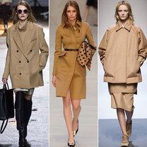 trendy jesień 2013 - płaszcze camel