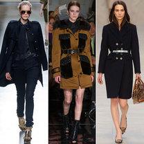 trendy jesień 2013 - płaszcze w stylu militarnym