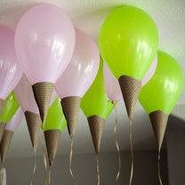 lody z balonów