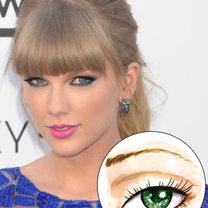 oczy szeroko rozstawione - kreska eyelinerem