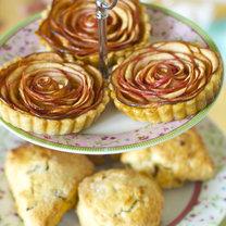 tartaletki w kształcie róż