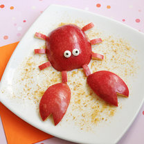 krab z jabłka